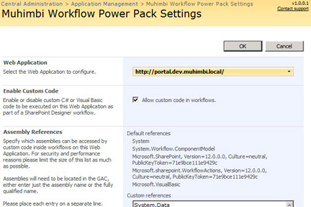 Workflow Power Pack for SharePoint